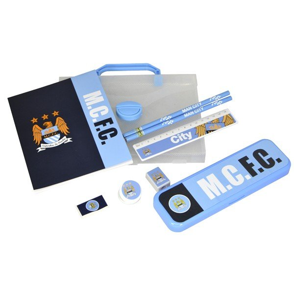 Manchester City Wordmark PP Stationery Gift Set