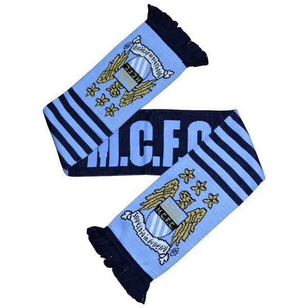 Manchester City Wordmark Scarf