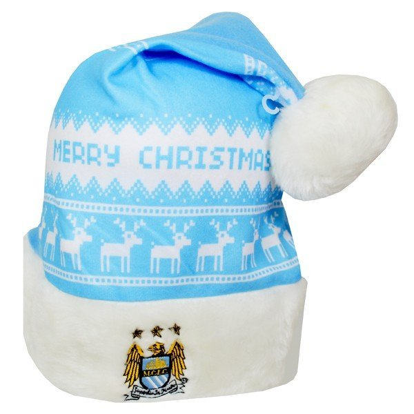 Manchester City Xmas Nordic Hat