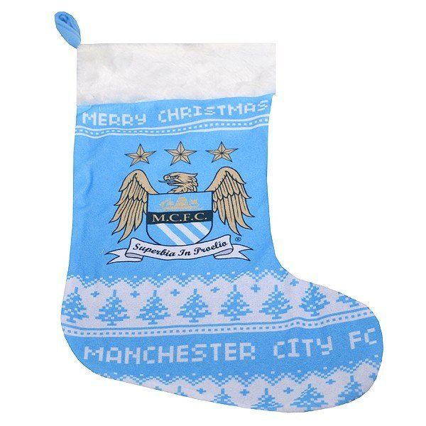 Manchester City Xmas Nordic Stocking