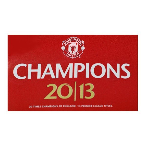 Manchester United 20 League Titles Flag
