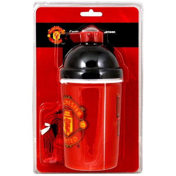 Manchester United 3D Water Bottle - Red