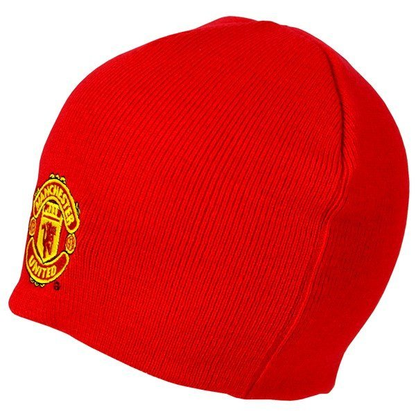 Manchester United Basic Beanie Hat - Red