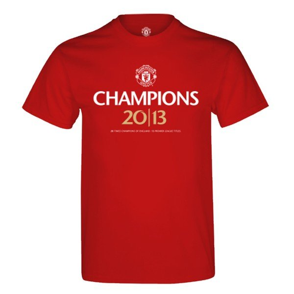 Manchester United Champions 20/13 Mens T-Shirt -S