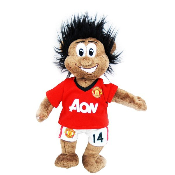 Manchester United Chicharito Mascot Bear - Black