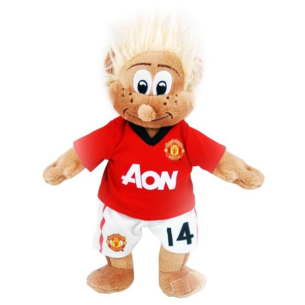 Manchester United Chicharito Mascot Bear - White
