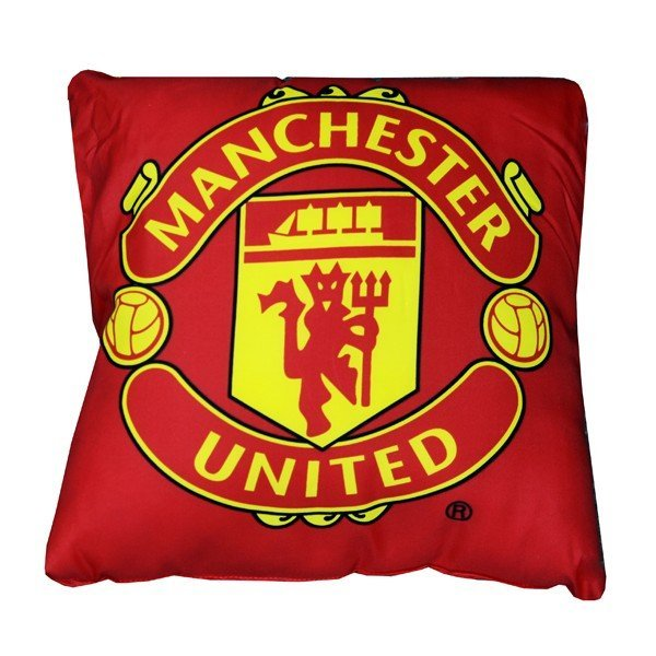 Manchester United Crest Cushion