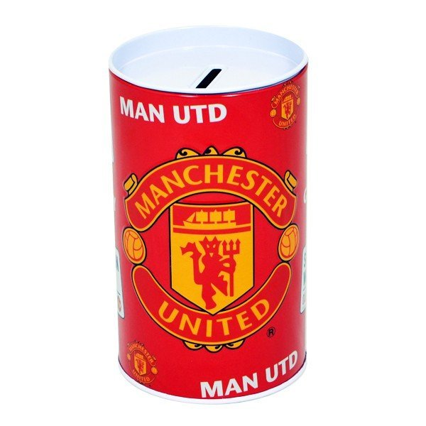 Manchester United Crest Money Tin