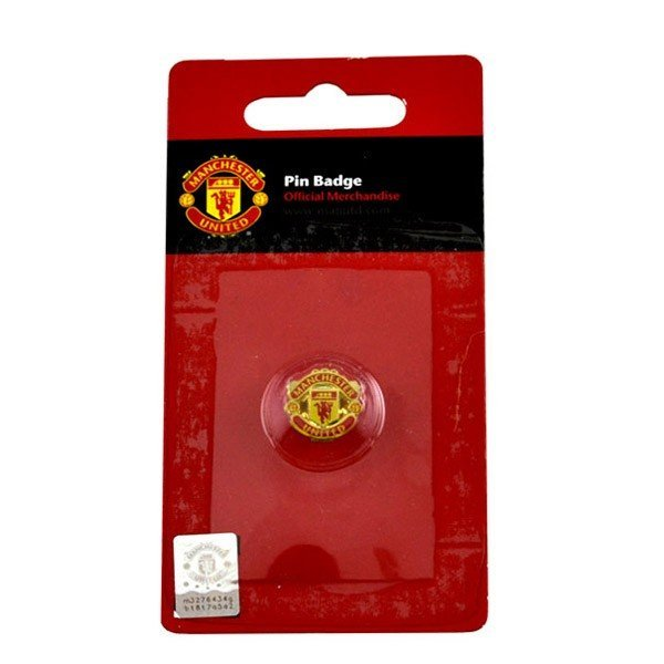 Manchester United Crest Pin Badge