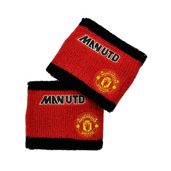 Manchester United Embossed Crest Wristbands
