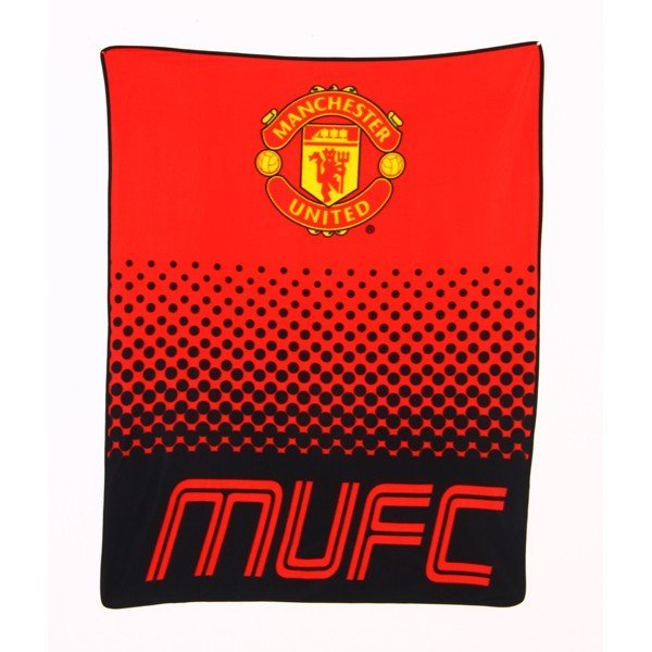 Manchester United Fade Fleece Blanket