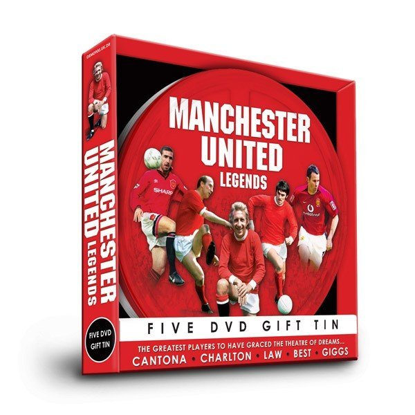 Manchester United Five DVD Gift Tin