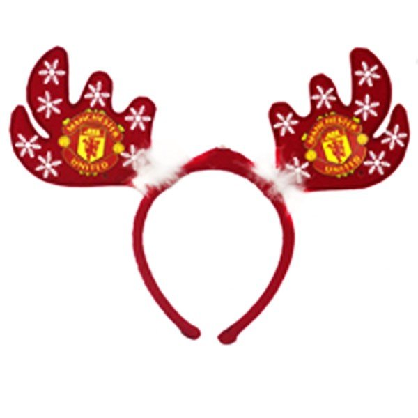 Manchester United Flashing Xmas Antlers Headband