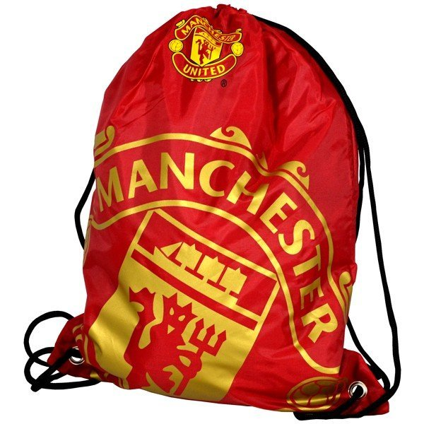 Manchester United Foil Print Gym Bag