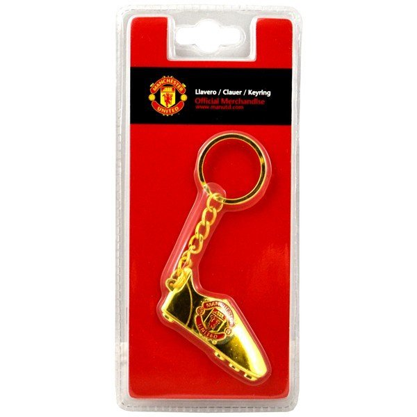 Manchester United Gold Boot Keyring