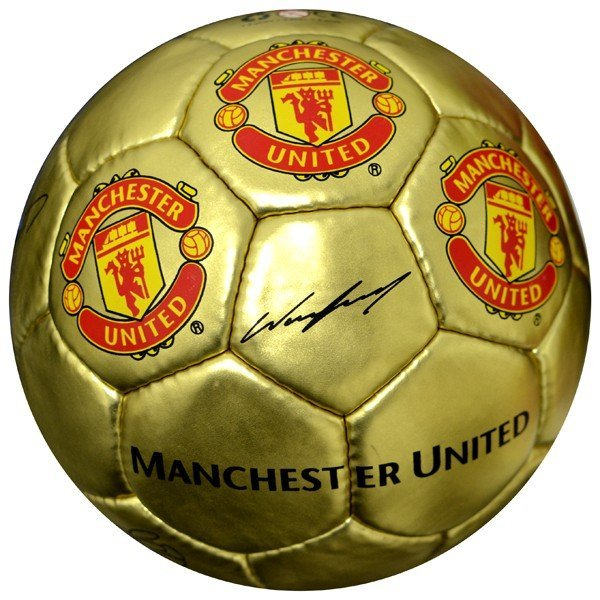 Manchester United Gold Signature Football - Size 5
