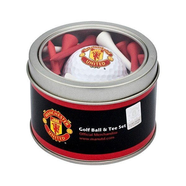 Manchester United Golf Ball & Tee Set