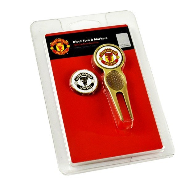 Manchester United Golf Divot Tool and Ball Markers