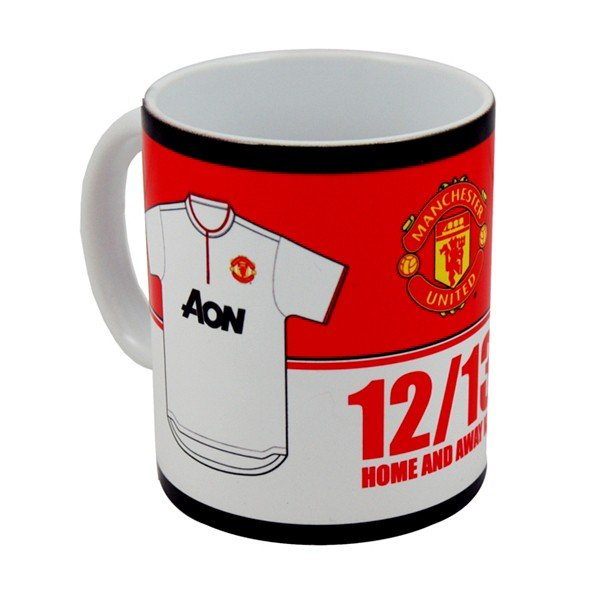 Manchester United Home & Away Kit Mug