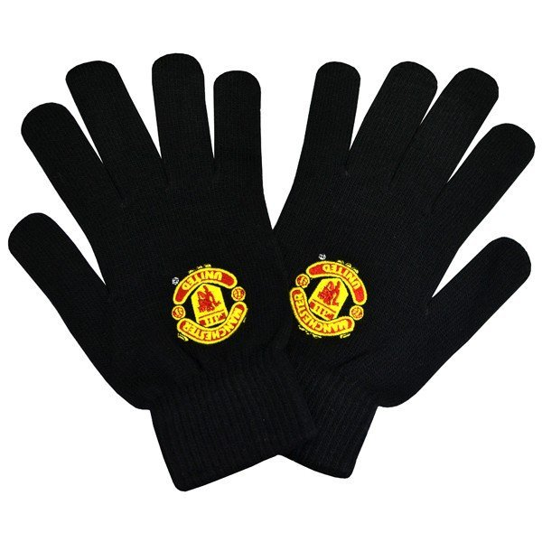 Manchester United Knitted Gloves