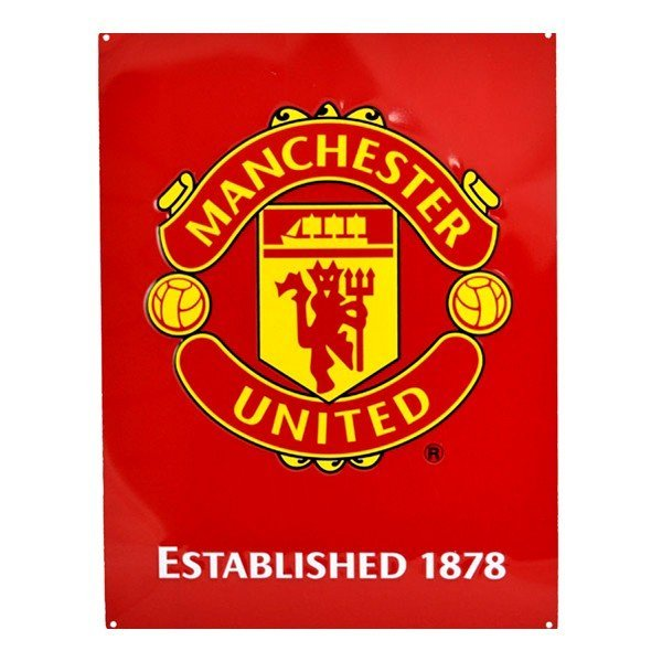 Manchester United Large Crest