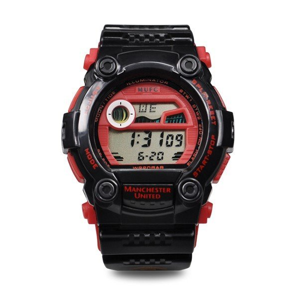 Manchester United Mens Digital Sports Watch