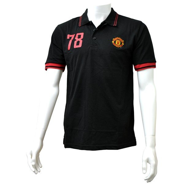 Manchester United Mens Polo Shirt - S