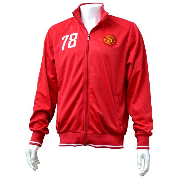 Manchester United Mens Track Jacket - M