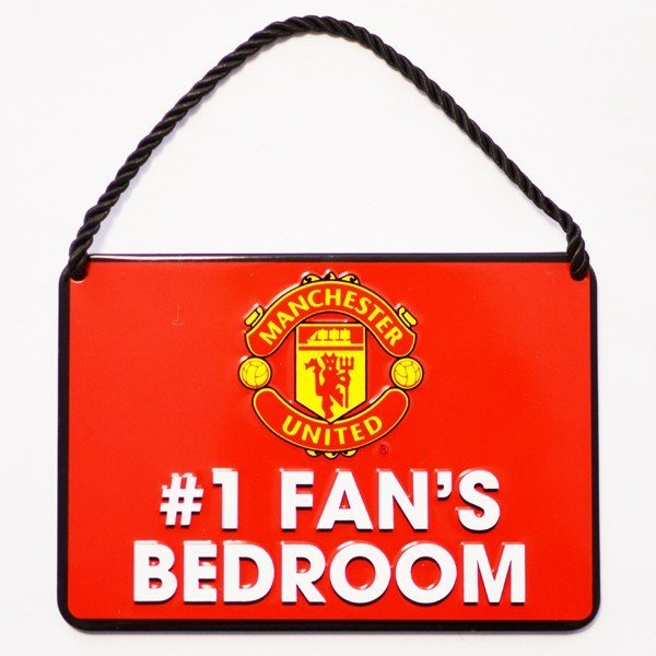 Manchester United No 1 Fan Bedroom Sign