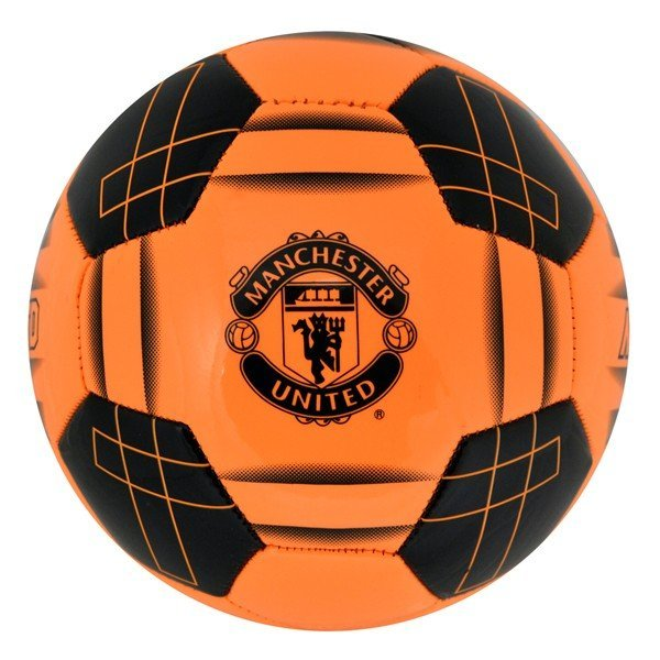 Manchester United Orange Fluo Football - Size 5