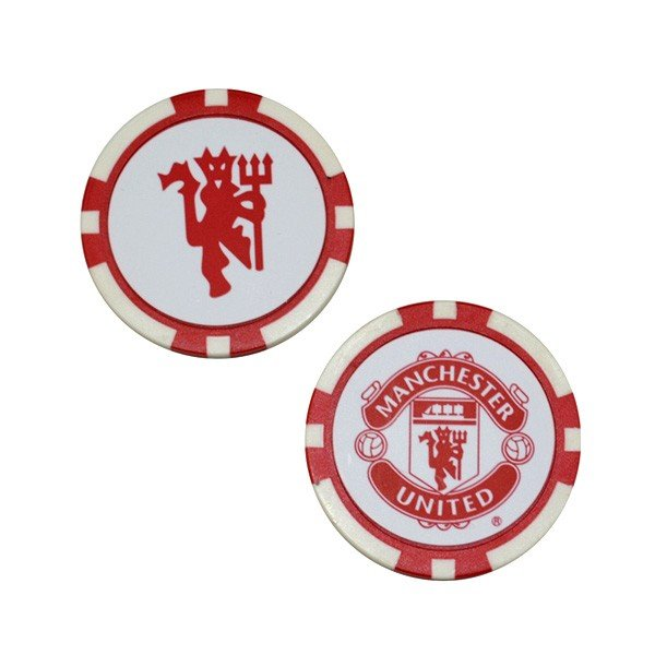 Manchester United Poker Golf Ball Marker - 2PK