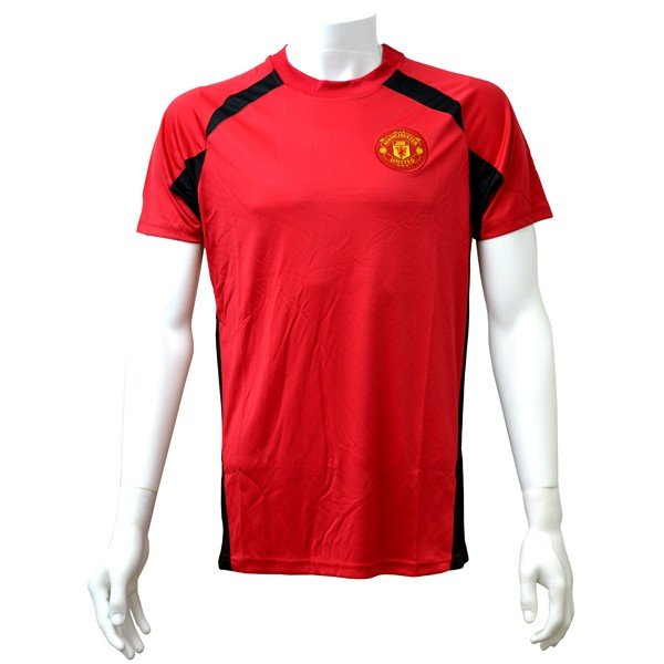 Manchester United Red Panel Mens T-Shirt - L