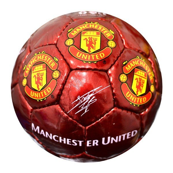Manchester United Red Signature Football - Size 2
