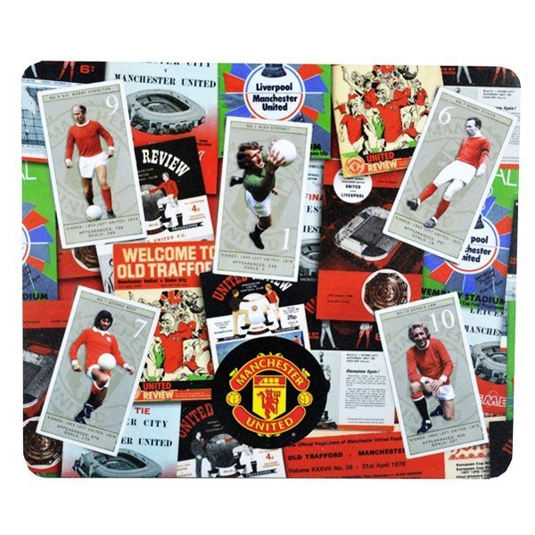 Manchester United Retro Mouse Mat