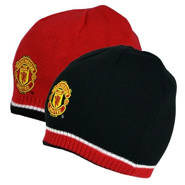 Manchester United Reversible Knitted Hat