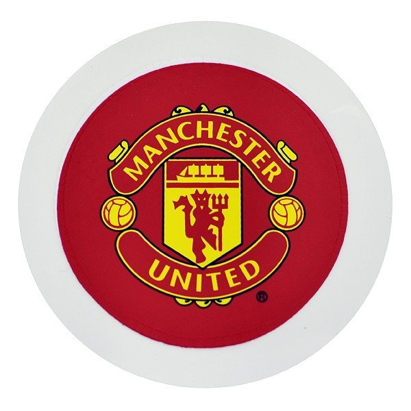 Manchester United Round Tax Disc Holder