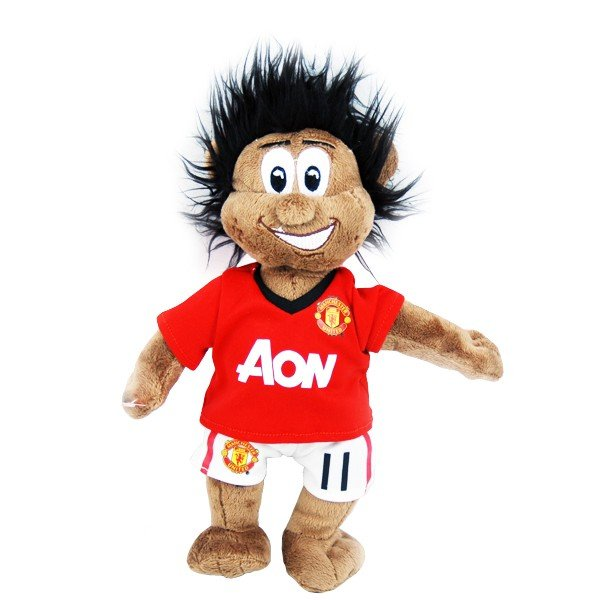 Manchester United Ryan Giggs Mascot Bear - Black