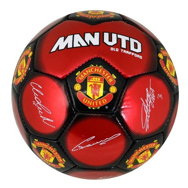 Manchester United Signature Mini Football - Size 1