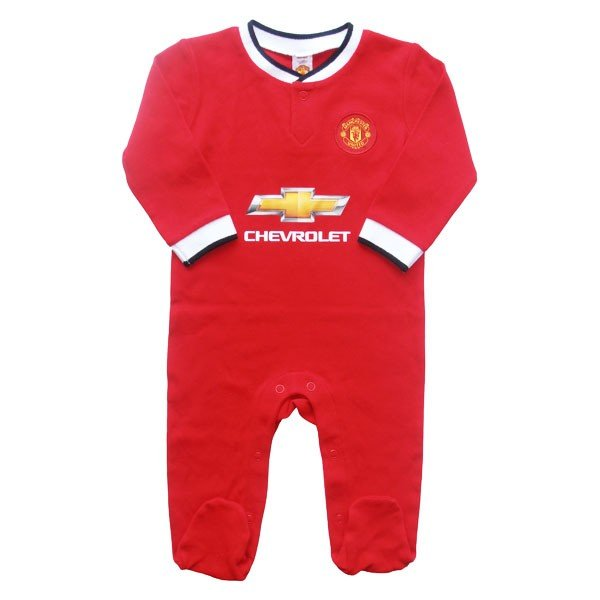 Manchester United Sleepsuit - 9/12 Months