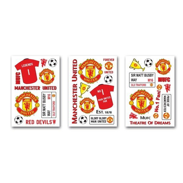 Manchester United Wall Stickers