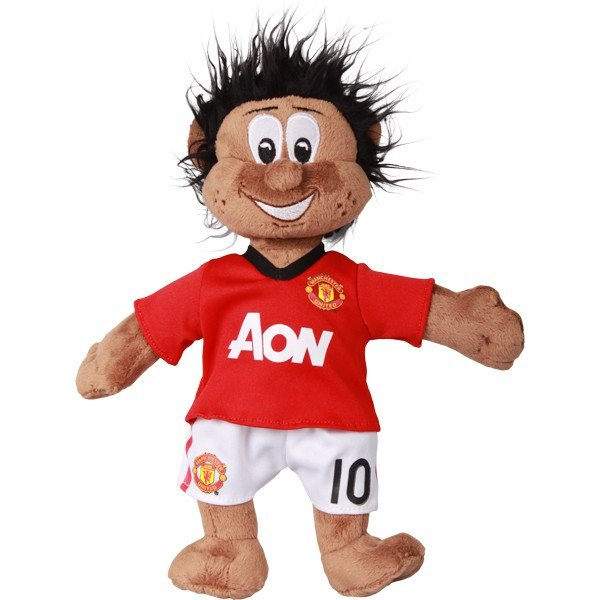 Manchester United Wayne Rooney Mascot Bear - Black