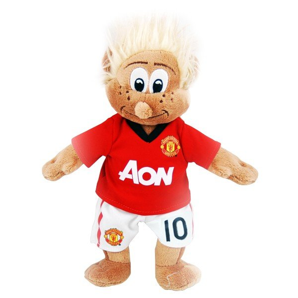 Manchester United Wayne Rooney Mascot Bear - White
