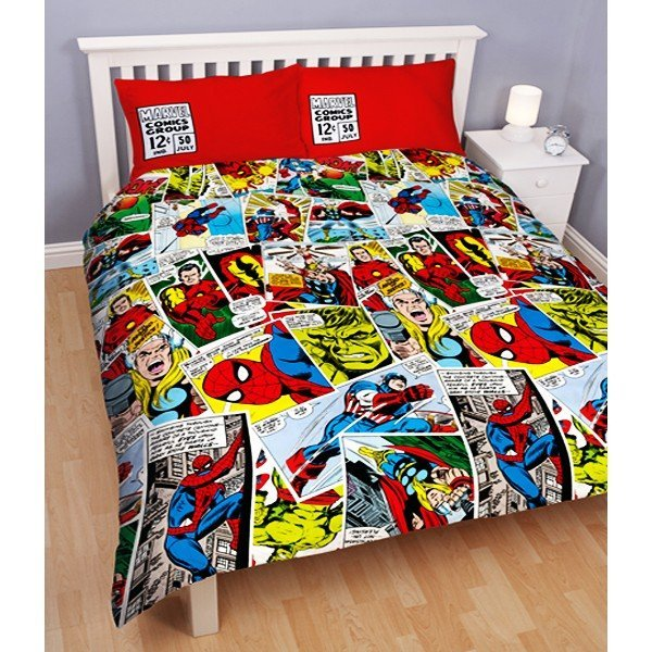 Marvel Comics Reversible Double Duvet