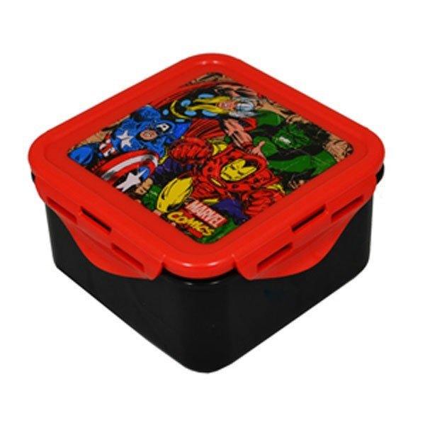 Marvel Comics Square Food Container