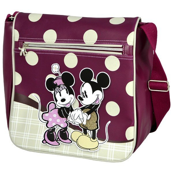 Mickey and Minnie Shoulder Bag