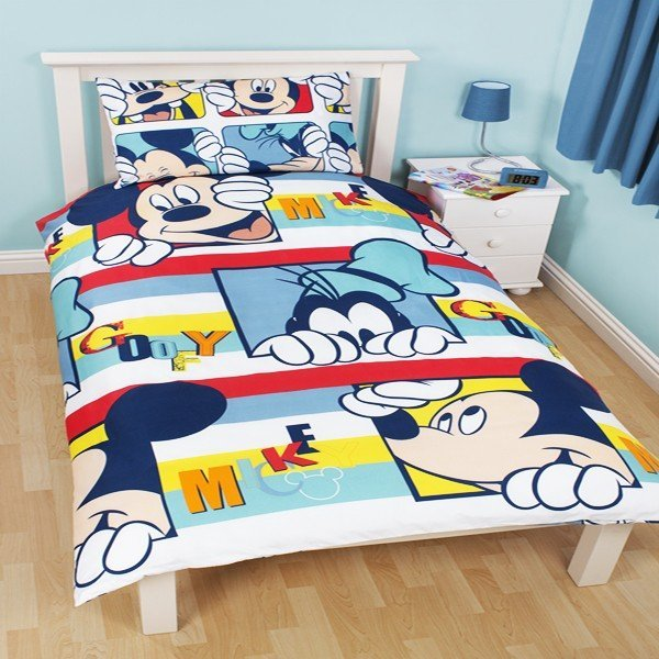 Mickey Mouse Play Reversible Single Duvet