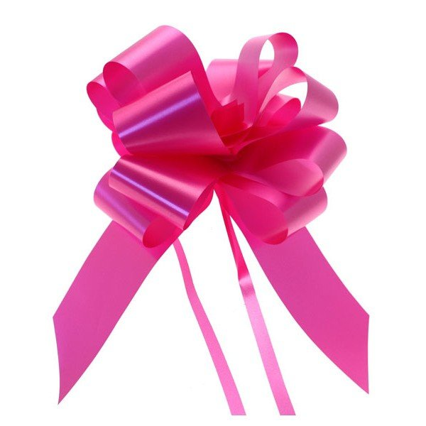 Midwest Ribbons 2 Inch Pull Bows - Cerise