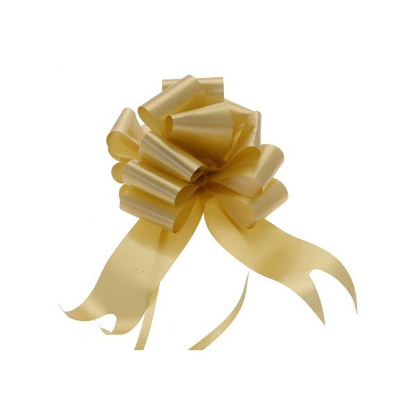 Midwest Ribbons 2 Inch Pull Bows - Gold
