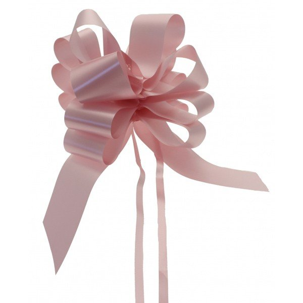 Midwest Ribbons 2 Inch Pull Bows - Light Pink