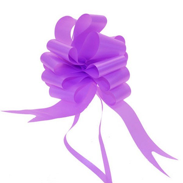 Midwest Ribbons 2 Inch Pull Bows - Lilac